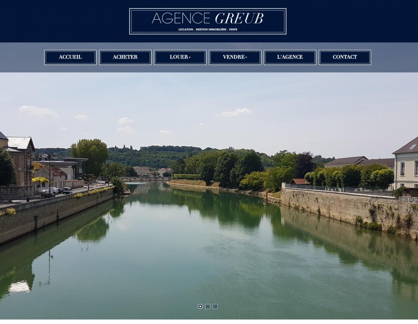 Site Internet de l'Agence Greub
